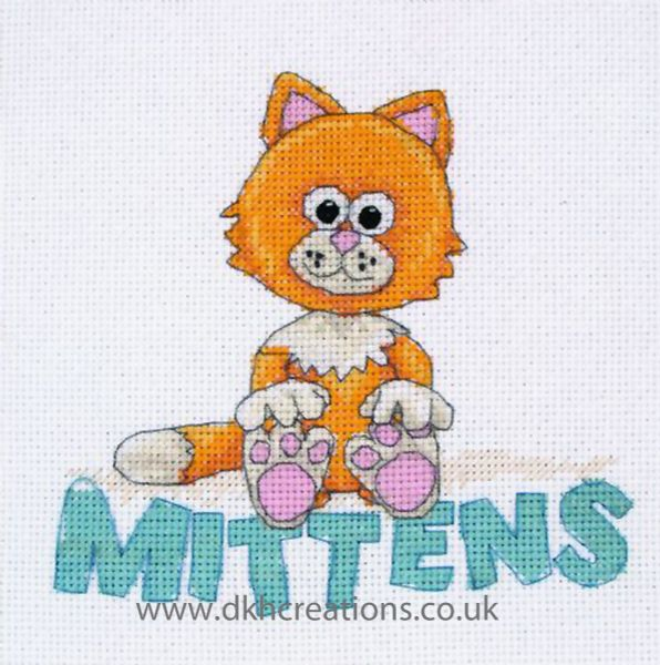 Timmy Time Mittens Cross Stitch Kit